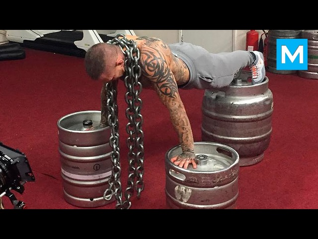 Strength Workout for UFC - Ross Pearson   Muscle Madness
