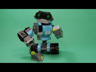 LEGO CREATOR - EXPLORATION ROBOTS, 31062 / ЛЕГО КРЕАТОР - РОБОТ ИССЛЕДОВАТЕЛЬ, 31062.