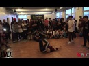 X Fenz Vs The Elusives Finals Freestyle Session NYC 2016 Pro Breaking Tour BNC