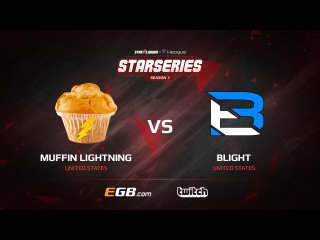 Muffin Lightning vs Blight, map 1 mirage, SL i-League StarSeries Season 3 NA Qualifier