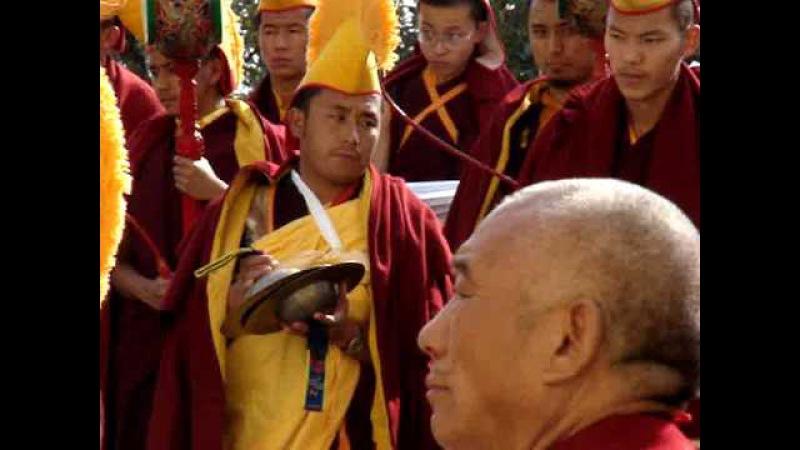 Тибетский новый год с Далай Ламой 17-м_Losar 2008