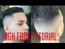 High Combover Tutorial - How to High Skin Fade