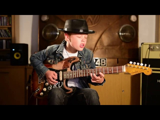 Toby Lee aged 11 - The Texas Shuffle Jam