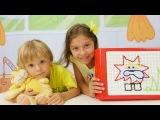 Türkçe izle - kız erkek çocuk oyunları/videoları. Polen ve Dani ile yeni oyun ve yeni oyuncaklar