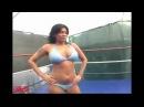 Wrestling 0067; Afrika Vs  Shelly Martinez