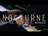 David Fray records Chopin Nocturne Op.48 No.1 in C Minor