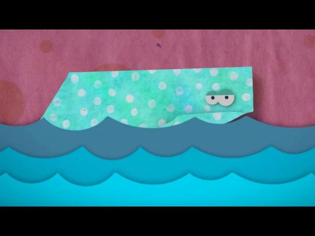 Бумажки - Таинственный остров - мультфильм для детей