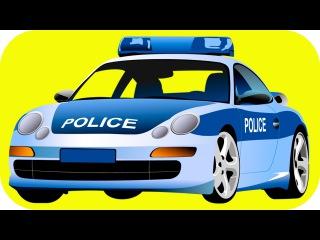 Eğitici Çizgi Filmi - Polis arabası, Ambulans ve Yarış arabası Akıllı Arabalar - Türkçe İzle