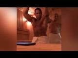 (18+) Голый Стас Костюшкин снял в бане эротическое видео для Леры Кудрявцевой