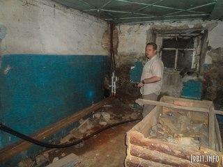 Подвал. ул. Орджоникидзе, 61 (18 июля 2012 г.)