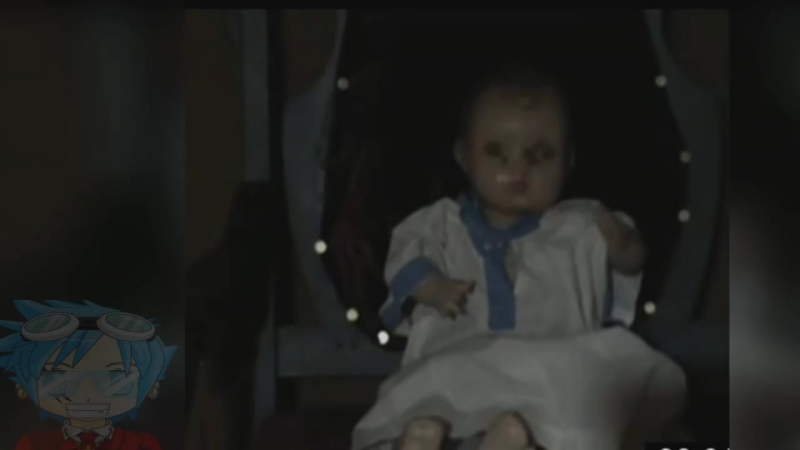 カメラで捕らえたTOP7勝手に動いた人形たち!