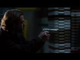 SPN Сэм убивает Молоха из револьвера. 12х18