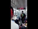 Музыканты в метро Нью Йорка