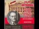 Opera Antigonae von Orff