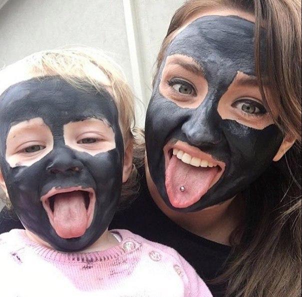 Маска от черных точек с углем, Черная маска для лица от черных точек, Маска для лица от черных точек