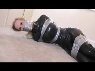 Blond bound. [bondage tied sex anal porno бдсм бондаж порно bdsm taped latex rape сиськи gagged секс porn leggins  sex ]