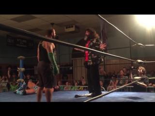 Suge D, Santino Marella Joey Ryan win DDT Pro Ironman Heavymetalweight (24_7) Title Mick Foley!