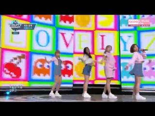 [Comeback Stage] 160428 Lovelyz (러블리즈) - 1cm @ 엠카운트다운 M! Countdown