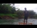 сплав по реке на плотах