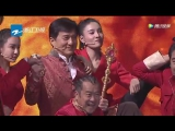 Tao, Jackie Chan and kungfu team's enterance on Ace vs Ace.