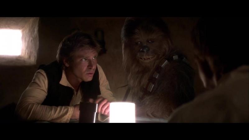 Звездные Войны Эпизод 4 Новая Надежда Star Wars Episode IV A New Hope 1977 Сцена в Кантине Хан Стрелял Первым