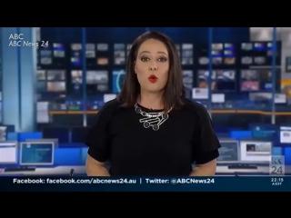 Реакция телеведущей