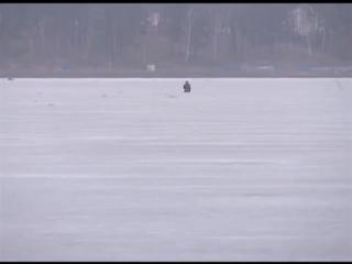 Опасный лёд на реках Сибири