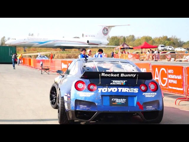 Nissan GT-R Масато Кавабата: звук мотора (Nissan GT-R Masato Kawabata Engine Sound)
