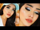 Shimmery Blue Makeup Tutorial Chit Chat | Talk Trough