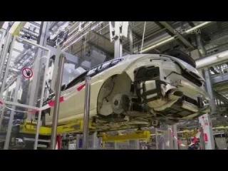 КАК ЭТО СДЕЛАНО   Автомобильный завод нового поколения. Автозаводы Porsche Panamera