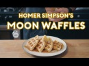 Binging with Babish Homer Simpson's Patented Space Age Out Of This World Moon Waffles