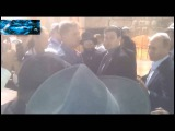 Путен (наст. Шеломов, ЖИД-хасид) у стены плача в хасидской КИПЕ (шапочке)