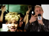 Aaron Carter's Reaction To 'Aaron's Party'... It's Hilarious  MTV News - YouTube
