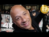 Vin Diesel at XXX Return of Xander Cage premiere interview
