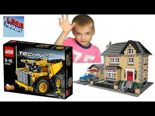 Лего Техник 42035 Карьерный Самосвал. Обзор конструктора Lego Technic Mining Truck. Lego Mania