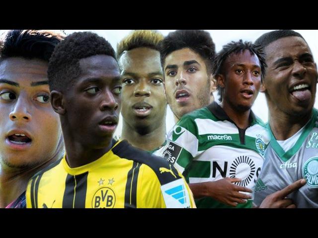 Young Football Talents 2016-17 ● Mastour ● Dembele ● Musonda Jr ● Asensio ● Martins ● Jesus