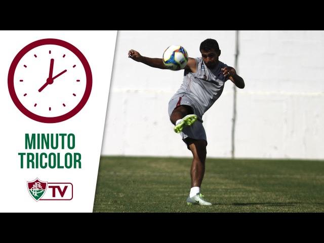 FluTV - Sornoza começa a se soltar e mostrar desenvoltura no Fluminense