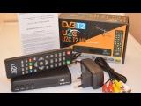 Сенсационная новинка! Т2 Ресивер (тюнер) U2C T2 HD Internet - распаковка