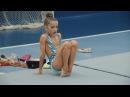 Соревнования по художественной гимнастике Снежная королева 2016. Часть 1. Разминка
