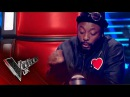 Accidentally Presses His Button! | The Voice UK 2017