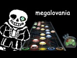 Guitar Hero Custom MEGALOVANIA (Metal Cover by RichaadEB) - Undertale