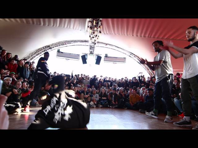 Juste Debout Paris 2016 | Hip Hop | Waydi Rochka vs Ben Ukay | Top 32