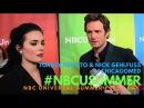 Torrey DeVitto Nick Gehlfuss ChicagoMed at NBCUniversal's Summer 2016 Press Day NBCUSummer