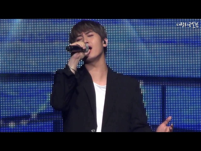 Weak Child ~❤160813 Double S 301 Ancore Concert [U R MAN IS BACK] :: 몸이 약한 아이 - 허영생(Heo Young Saeng)