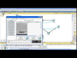 Курс Cisco, Routing and Switching. Шаг 10 Настройка DNS сервера в программе Cisco Packet Tracer