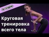 Круговая тренировка - проработка мышц всего тела II Я худею с Екатериной Кононовой