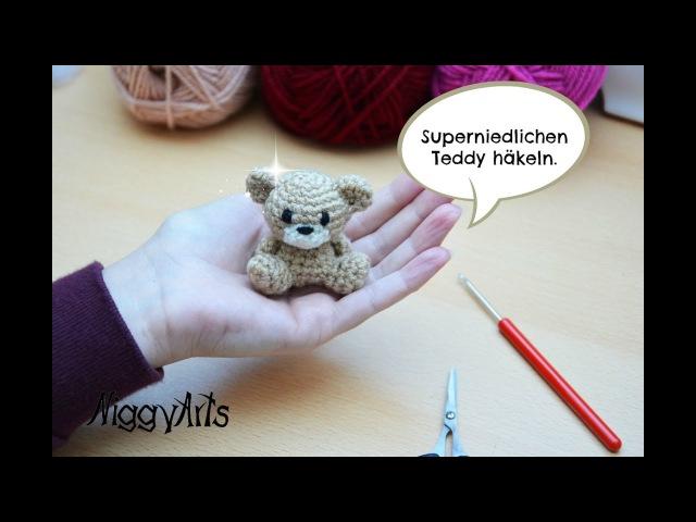 NiggyArts - Häkelanleitung für superniedlichen Teddy (für etwas geübtere Häkler/innen)