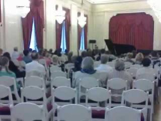 Елена Чупахина (фортепиано) в Шереметевском дворце С-Пб