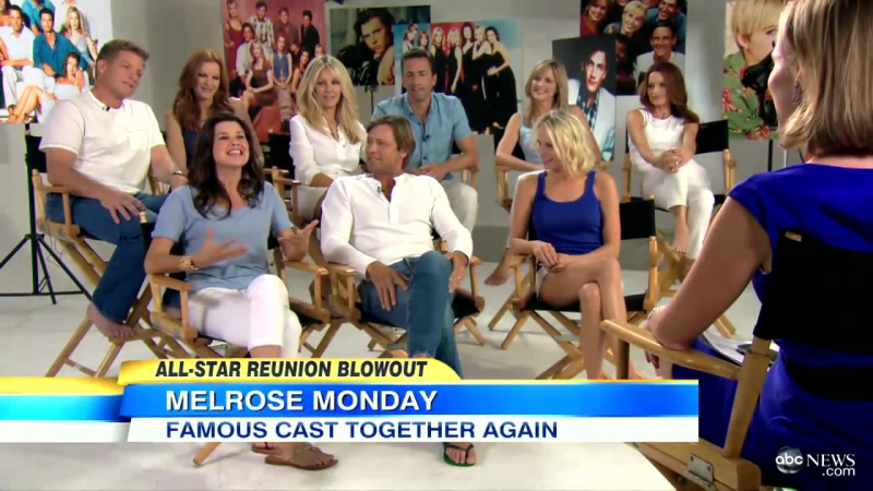 Melrose Place Cast Reunion Includes Heather Locklear, Andrew Shue