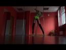 Exotic Pole Dance. Strip plastic. Pole Dancer - OLESYA TYURKINA